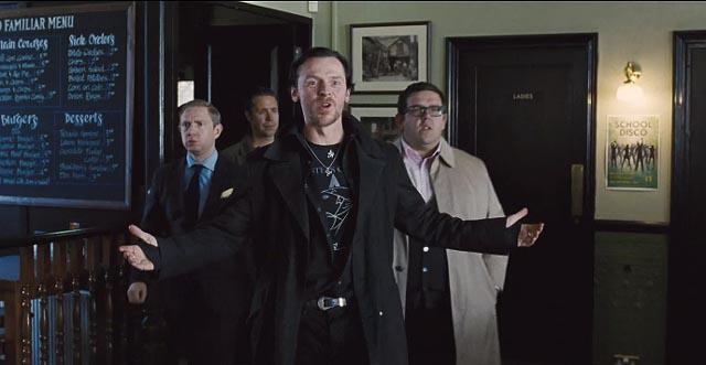 Gary King (Simon Pegg) clings to adolescent dreams of boozing glory in Edgar Wright's The World's End