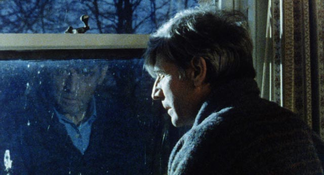 Bill Douglas as Alex Britain in Saxon Logan's Sleepwalker (1984)