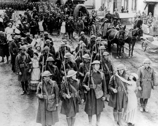 Marching to the Front