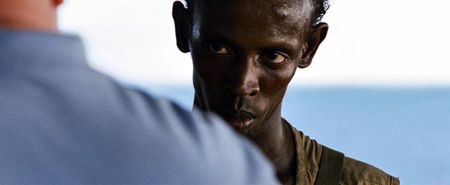 Barkhad Abdi as Somali pirate Muse, the main reason for seeing Captain Phillips