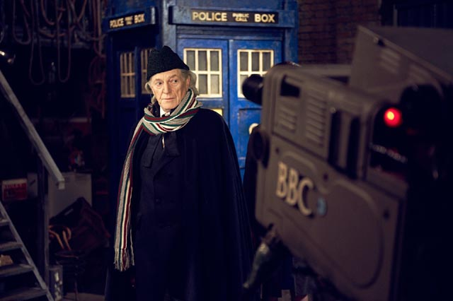 David Bradley as actor William Hartnell, the original Doctor Who