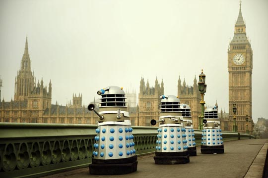 The Daleks in London