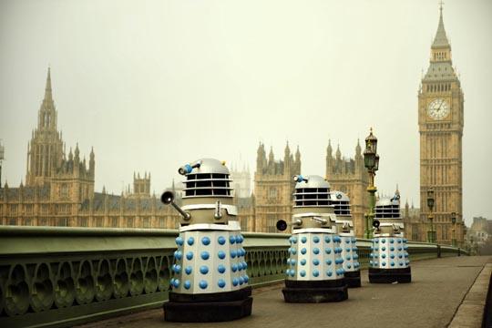 The Daleks in London