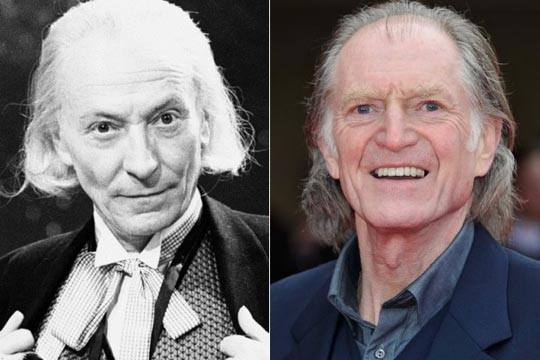 William Hartnell & David Bradley