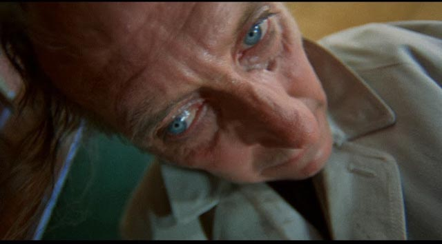 Peter Cushing gives it his all as murderous surgeon Sir John Rowan in Corruption (1968)
