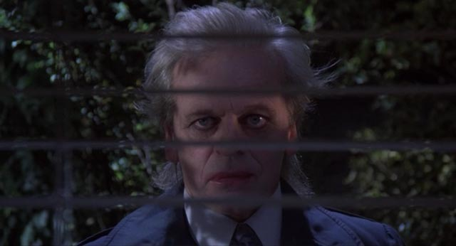 Klaus Kinski as the mad landlord in Crawlspace
