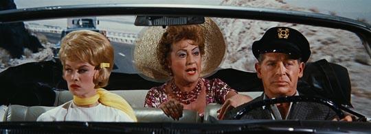 Dorothy Provine, Ethel Merman and Milton Berle