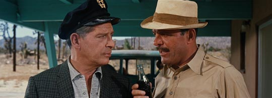 Milton Berle and Terry Thomas