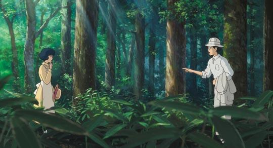 Jiro and Nahoko: romantic idyll