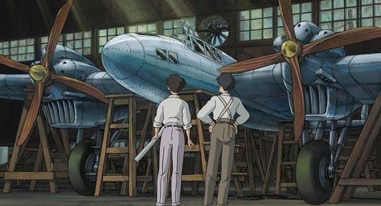 Jiro's dream serves the Japanese military