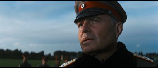 James Mason as General von Klugermann