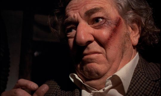 Rupert Davies as the abused but loving husband