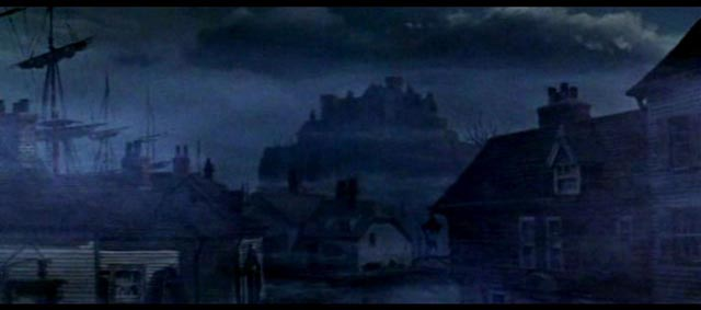H.P. Lovecraft's Arkham in the shadow of ancient evil in The Haunted palace (1963)