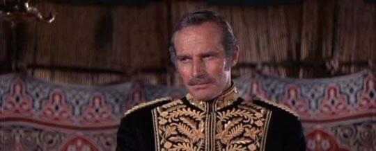 Heston as General Gordon