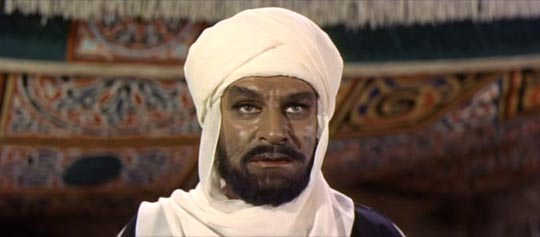 Olivier as the Mahdi