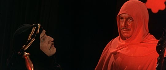Prince Prospero confronts his death