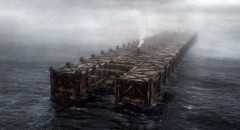 That's some big Ark! Darren Aronovsky's Biblical sci-fi epic Noah