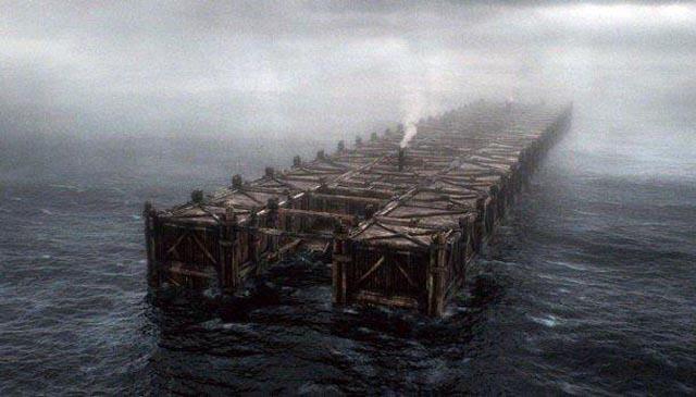 That's some big Ark! Darren Aronovsky's Biblical sci-fi epic Noah