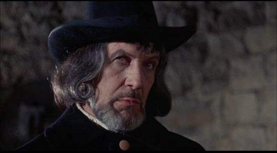 Price as witchfinder Matthew Hopkins