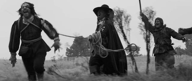 Reece Shearsmith, Michael Smiley and Richard Glover in Ben Wheatley's mysterious A Field In England