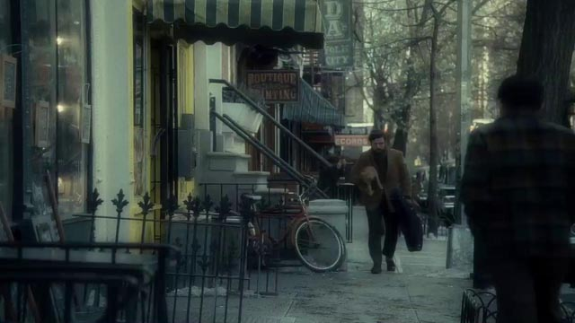 Despair of the talentless: Oscar Isaac and the cat in the Coen Brothers' Inside Llewyn Davis (2013)