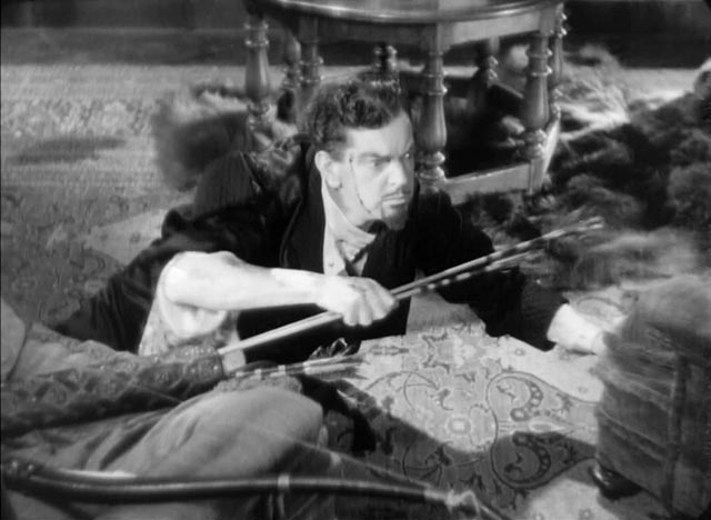Leslie Banks as the sadistic Count Zaroff meets his match in The Most Dangerous Game (1932)