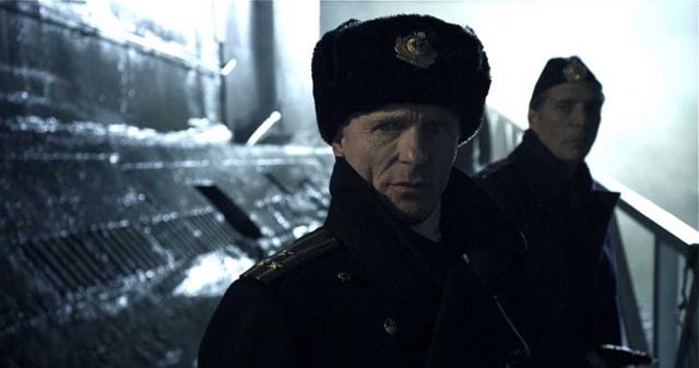 Ed Harris as the troubled Captain in Todd Robinson's Cold War submarine tale, Phantom (2013)