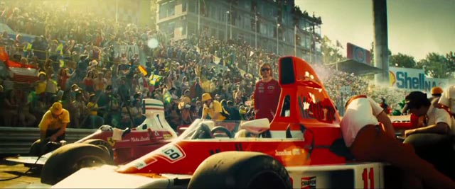 Speed, noise and celebrity: Ron Howard's Rush (2013)