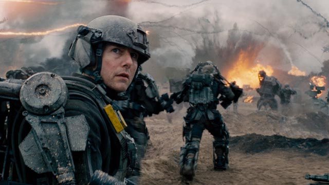 Tom Cruise as Major William Cage in Doug Liman's Edge of Tomorrow