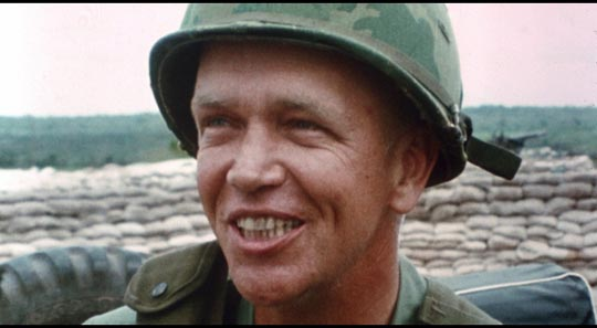 """Colonel George S. Patton III praises his men as a """"bloody good bunch of killers"""""""