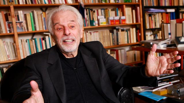 Alejandro Jodorowsky: still lively and enthusiastic at 84