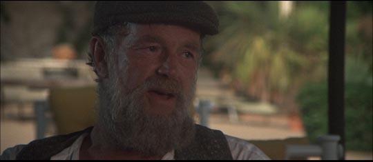 The face of noble despair: Sterling Hayden