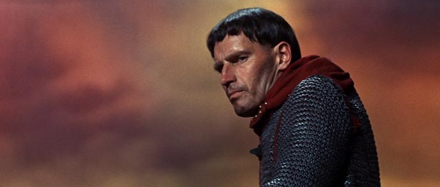 Charlton Heston gives one of his best performances as Chrysagon in Franlin J. Schaffner's The War Lord (1965)