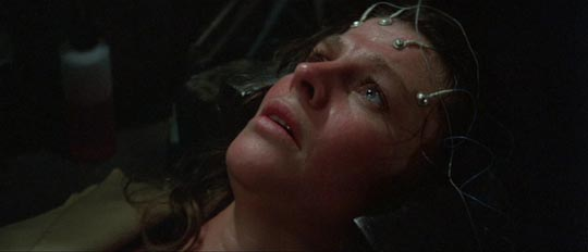Julie Christie, victim of enforced motherhood, in Demon Seed