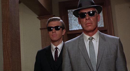 Clu Gulager & Lee Marvin