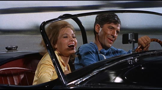 Johnny & Sheila Farr (Angie Dickinson)