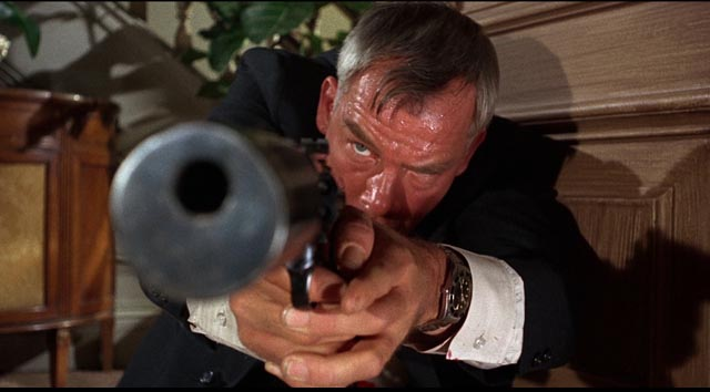 Lee Marvin as hitman Charlie Strom in Don Siegel's The Killers (1964)