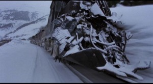 The metal beast on a track to nowhere in Andrei Konchalovsky's Runaway Train (1985)