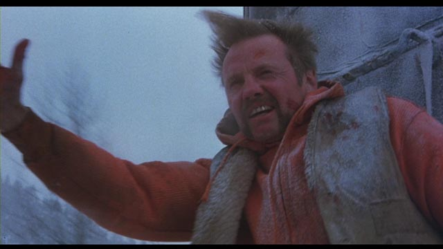 The human beast on a track to self-awareness: Jon Voight as Manny