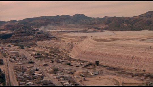 The Arizona landscape of White of the Eye