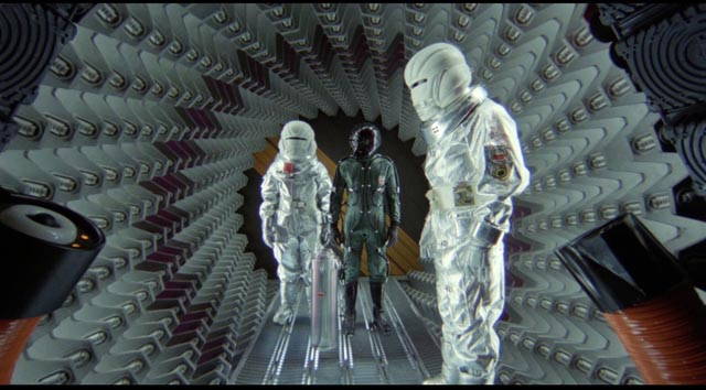 One of the few strikingly imaginative visuals in Stanley Donen's Saturn 3 (1980)