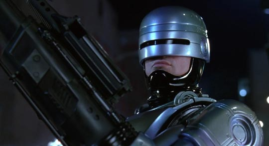 Man as weapon: RoboCop