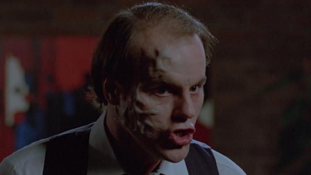 The destructive power of the human mind: Michael Ironside as Darryl Revok in Scanners (1981)