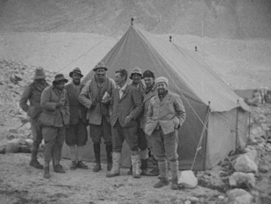 Members of the 1924 British Everest expedition