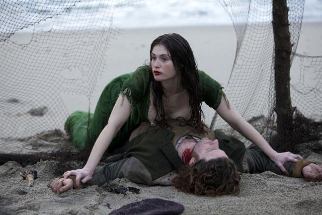 Gemma Arterton as Clara, fiercely fighting for her right to survivie in Neil Jordan's Byzantium