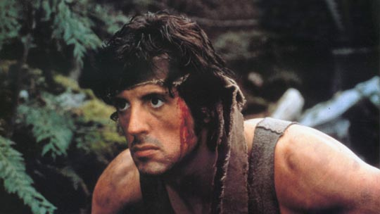 Sylvester Stallone as Rambo: First Blood (1982)