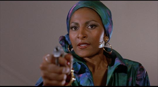 Pam Grier as Foxy Brown (1974)