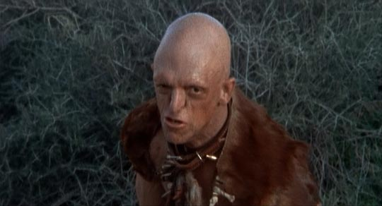 Michael Berryman in Wes Craven's The Hills Have Eyes (1977)