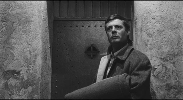Marcello Mastroianni, innocent of murder but brutally exposed for his moral failings in Elio Petri's L'Assassino (1960)