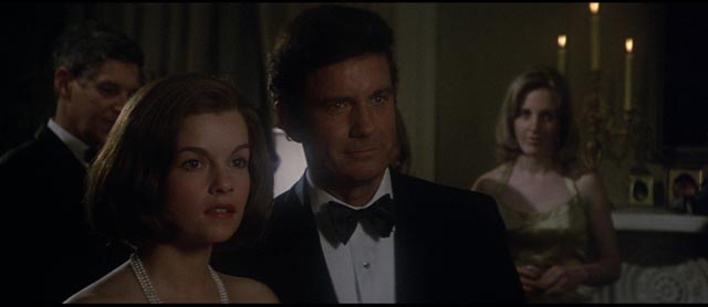 Genevieve Bujold and Cliff Robertson in Brian De Palma's Obsession (1976)